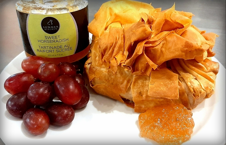 Nippy Cheddar in Phyllo Purse recipe
