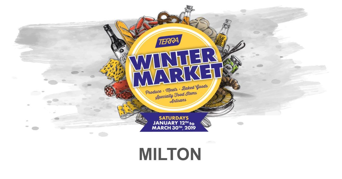Terra Winter Market in Milton Logo
